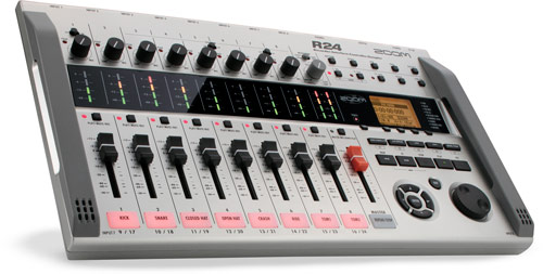Zoom R24 multi-track is your sampler, recorder, drum machine & controller interface