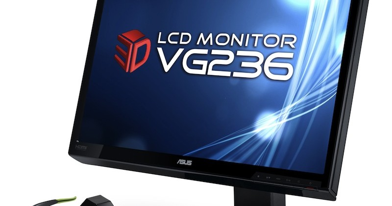 ASUS VG236H 3D display packs Full HD 1080p and 120Hz refresh