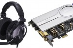 ASUS Xonar Xense soundcard Sennheiser PC350 headphones