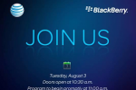 AT&T and RIM Event Scheduled for August 3rd, New Device and OS6 Showcased?