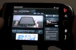 BlackBerry 9800 slider video demos: OS 6, browser & media menu