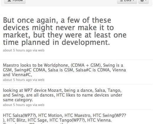 Windows Phone 7 devices from Dell, ASUS, LG, HTC & Samsung confirmed; HTC Salsa, Swing & Tango all spotted in ROMs