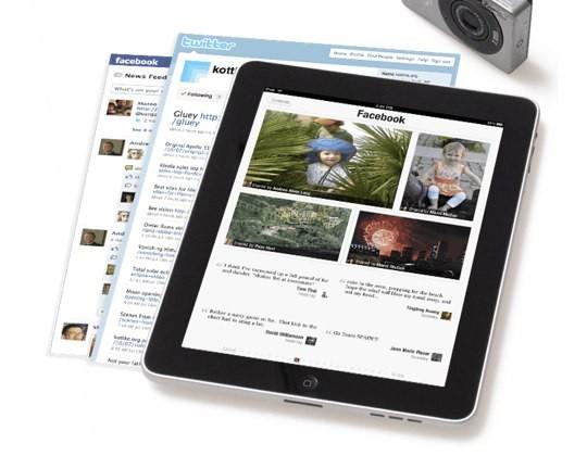 Flipboard digital iPad magazine auto-curates Twitter & Facebook content