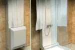 Folding Shower Lets You Choose Where Your Shower Goes