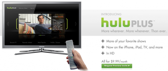 Hulu Plus Requires PSN+ Only for Preview Period