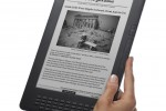 Kindle DX (graphite) Angle-Hand