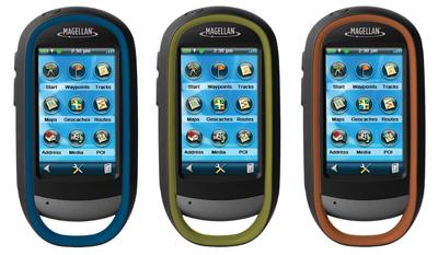 Magellan eXplorist rugged PNDs pack touchscreen & camera
