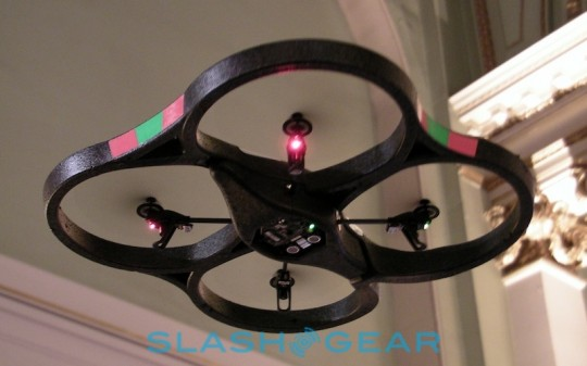 Parrot AR.Drone Available for Preorder Now, Ships September 3rd for $299