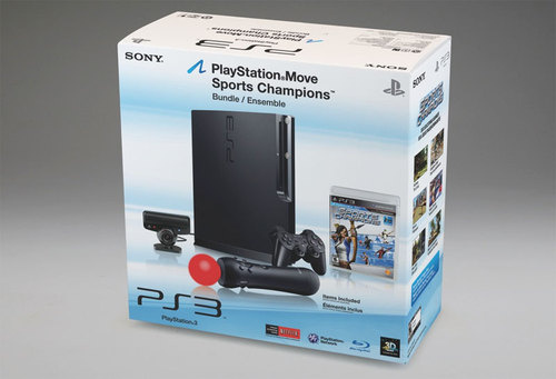 Sony PlayStation Move Bundles Shown Off