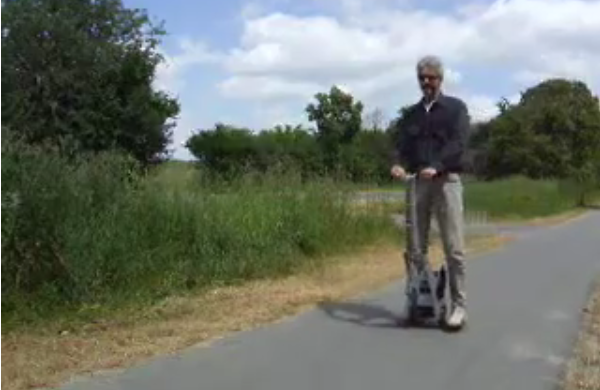 Ewee-PT Takes the Glamor Out of the Segway