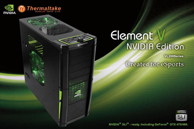 Thermaltake Element V Unveiled