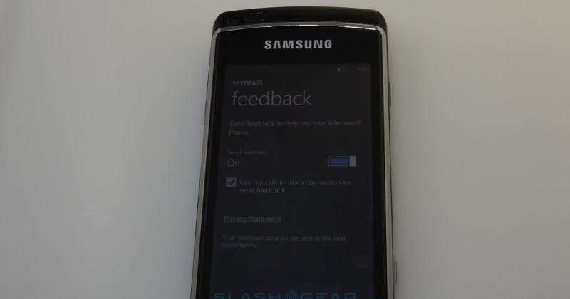 Windows Phone 7 Technical Preview Slashgear