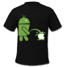 An Android shirt Calvin can be proud of