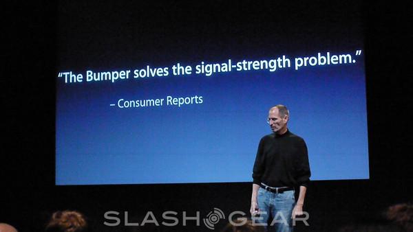 Consumer Reports: free iPhone Bumper isn't good enough