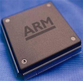 Microsoft license ARM chip tech