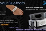 Atomic9 debuts Bluetooth Wristband Speakerphone