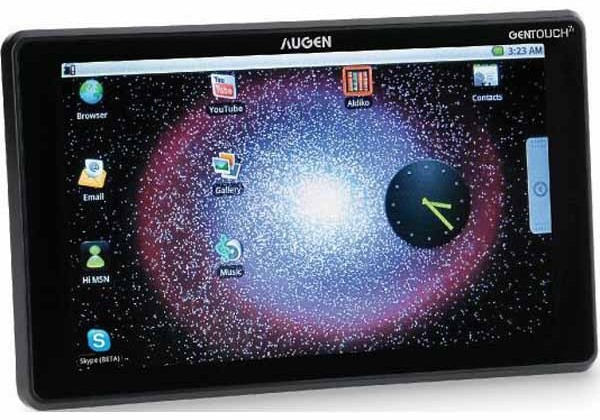 Augen Gentouch 78 $149 Android tablet headed to Kmart