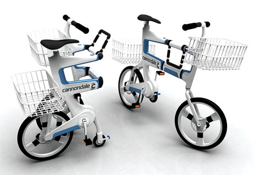 Bike concept turns into cart