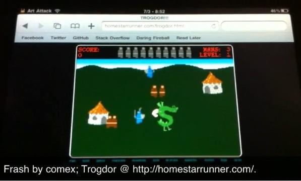 iPad gets Flash with Frash hack [Video]