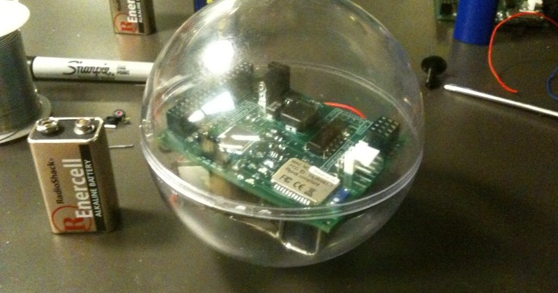 GearBox ball is remote-controlled via Bluetooth [Video]