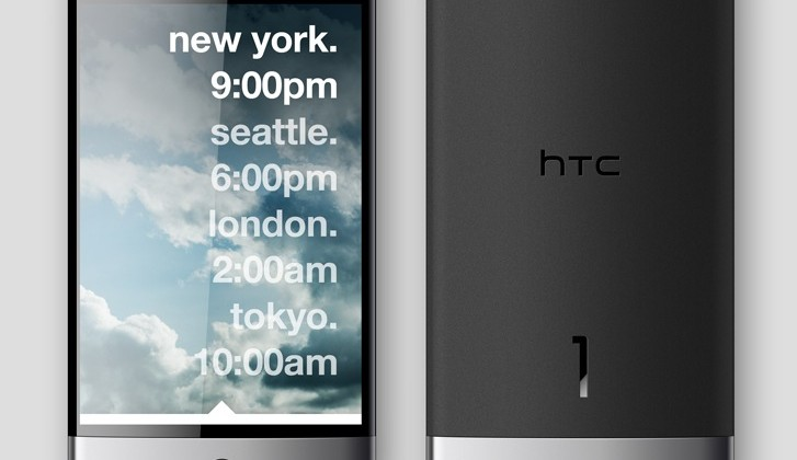 HTC 1 concept takes Android minimal