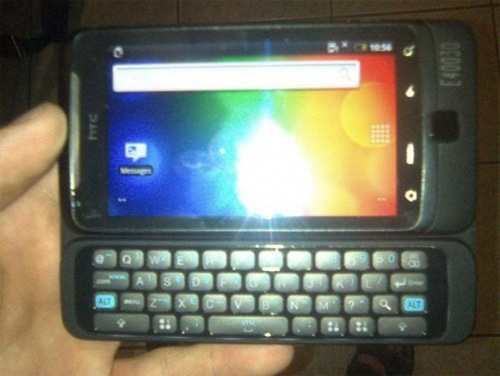 HTC Vision QWERTY Android phone leaks
