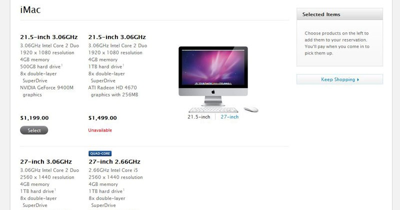 iMac stock shortages continue ahead of tipped range refresh