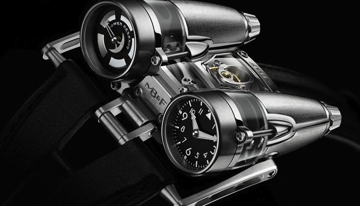 MB&F HM4 Thunderbolt watch makes ostentatious debut