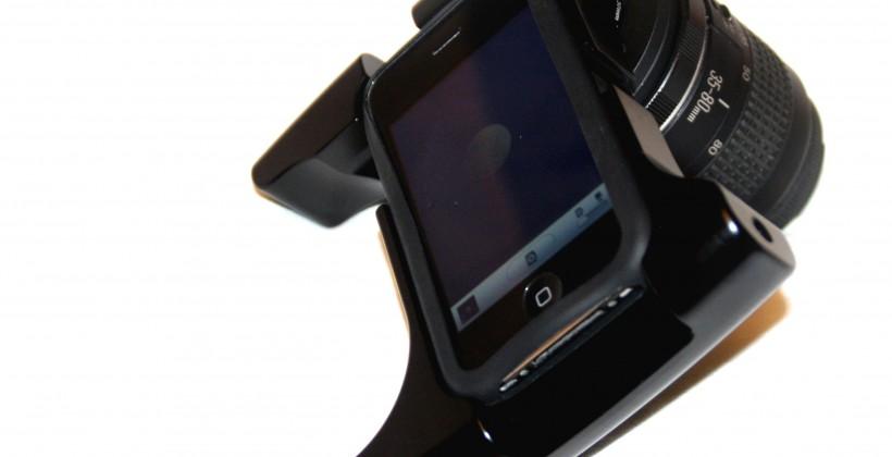 """iPhone DSLR prototype"" mounts Canon EF lenses, enrages purists"