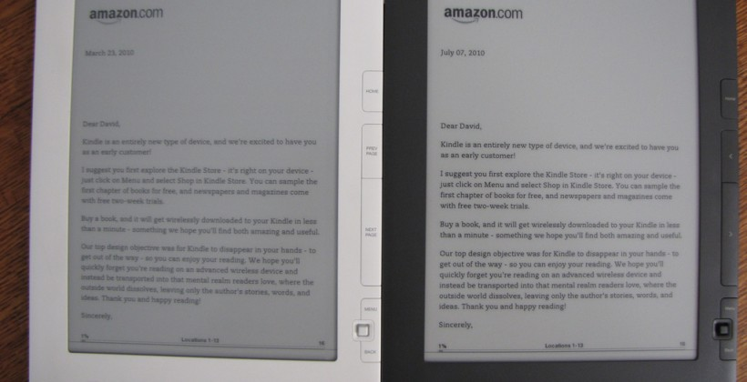 Kindle DX gets video review, side-by-side comparison with 1st-gen