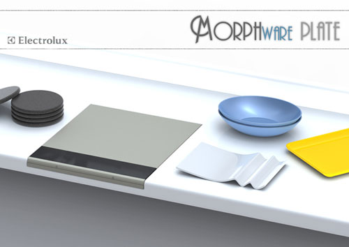 Morphware Plate concept uses magic