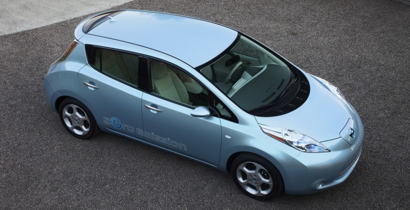 NEC begins Nissan Leaf EV battery mass production