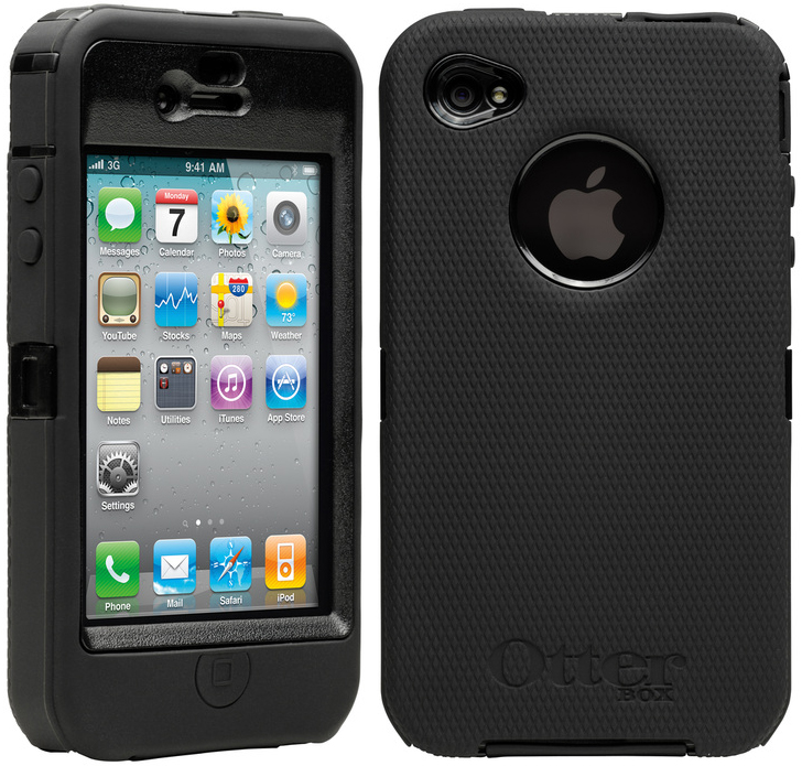 sale retailer be0dc 6b718 OtterBox Defender Series for iPhone 4 promises ruggedness & no ...