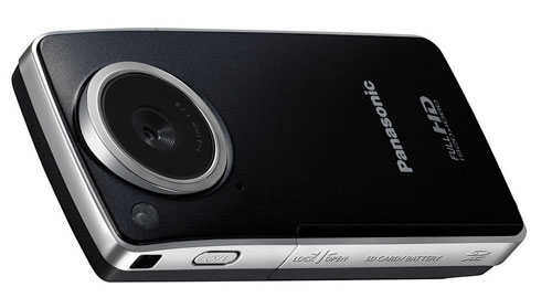 Compact Panasonic HM-TA1 Camcorder is a HD camcorder and webcam in one
