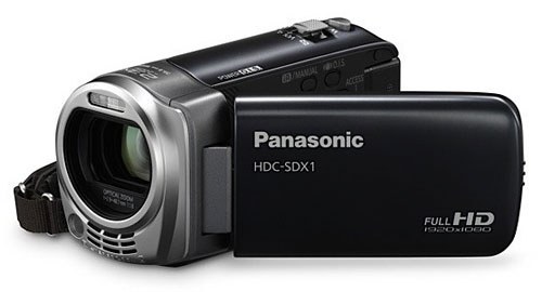 HDC-SDX1 is world's lightest full HD consumer camcorder that doubles as video chat webcam