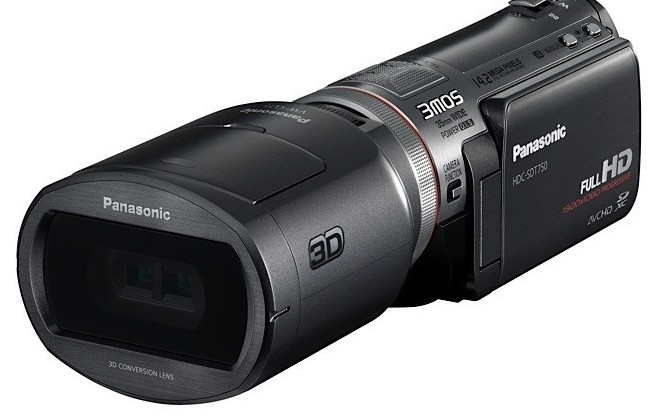 Panasonic HDC-SDT750 3D camcorder official: $1,400 in October