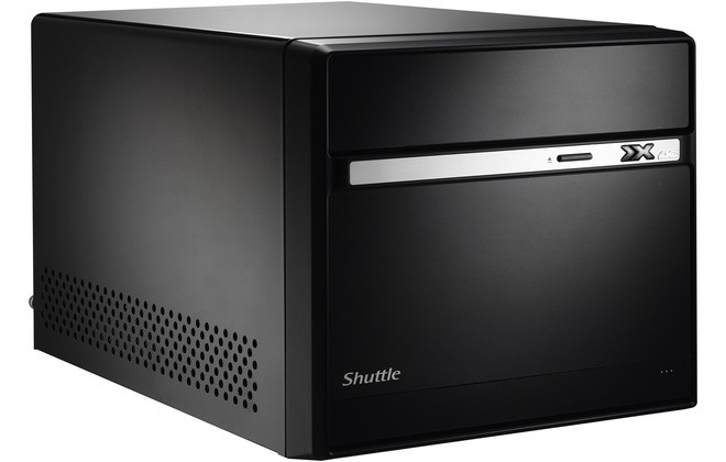 Shuttle XPC Barebone SH55J2 SFF PC content with Core i3, i5 and i7 CPUs