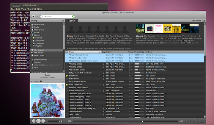 Spotify for Linux launches for premium subscribers - SlashGear