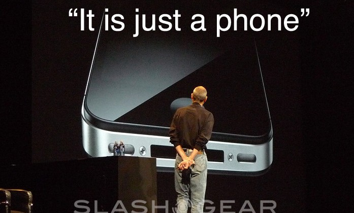 """Steve Jobs: iPhone 4 """"is just a phone"""" [Updated]"""