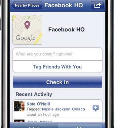 Facebook: Oh! The Places you will go