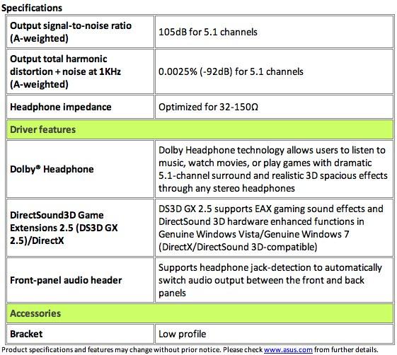 ASUS Xonar DG gaming sound card caters to headphones - SlashGear