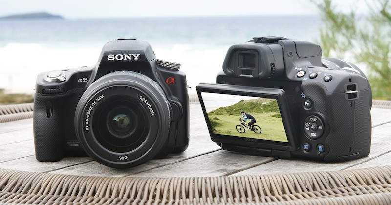 Sony A55 and A33 Translucent Mirror DSLRs: smaller, faster & continuous focus