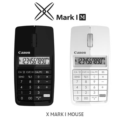 Canon X Mark I Bluetooth Wireless Calculator Mouse Announced