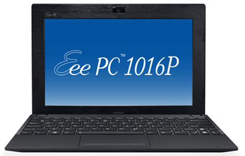 Asus Eee PC 1016P Features Bluetooth 3.0 and 2GB of RAM