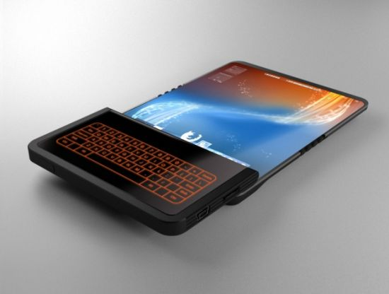 Flex Display Phone Concept Features 5-Inch Sliding Screen