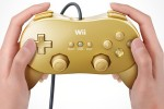 Nintendo Wii Classic Controller in Gold Included in Goldeneye 007 Classic Edition