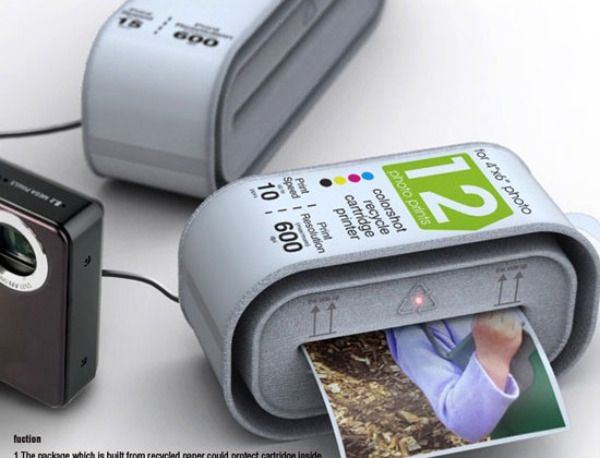 Instant Cartridge Printer Concept Shows Disposable Printers Can Work