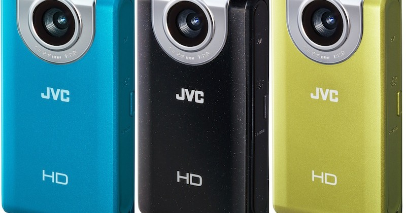 JVC PICSIO GC-FM2 and waterproof GC-WP10 Full HD camcorders outed