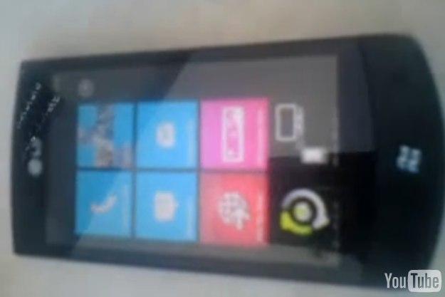 LG E900 Windows Phone 7 smartphone gets video demo