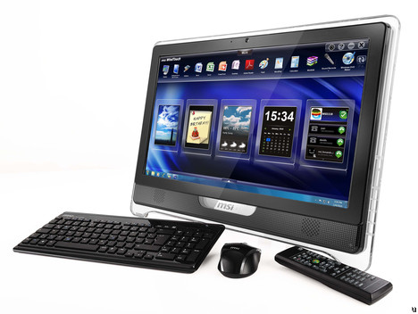 MSI Wind Top AE2280 All-in-One Desktop PC Available Now Starting at $949.99